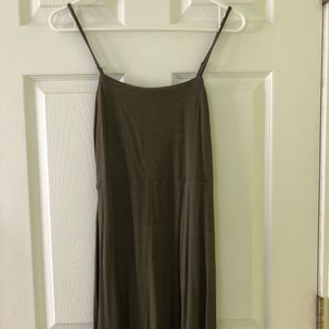 Forever 21 olive/army green summer dress